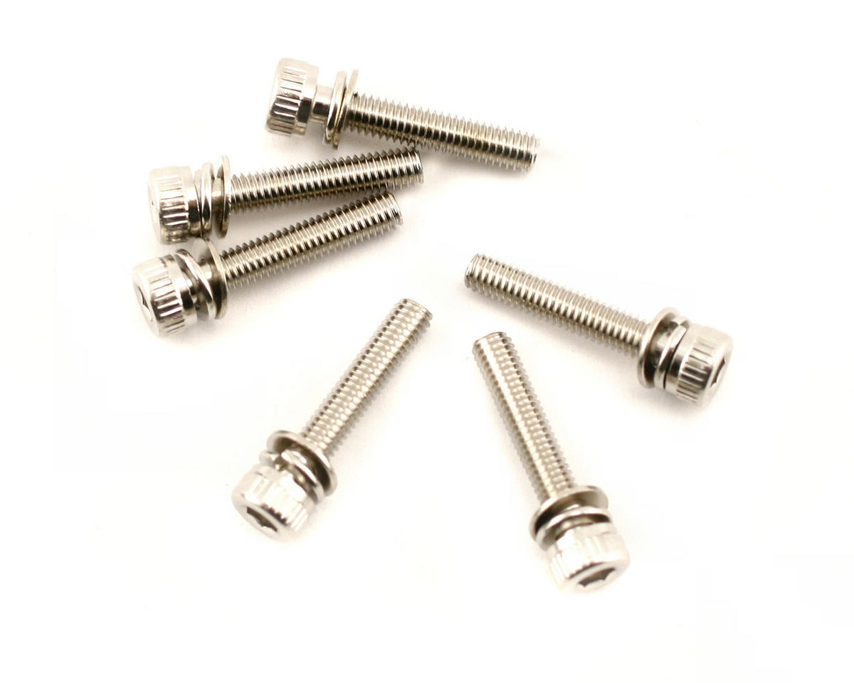 3X15mm Cap Head Screws (6) by Traxxas