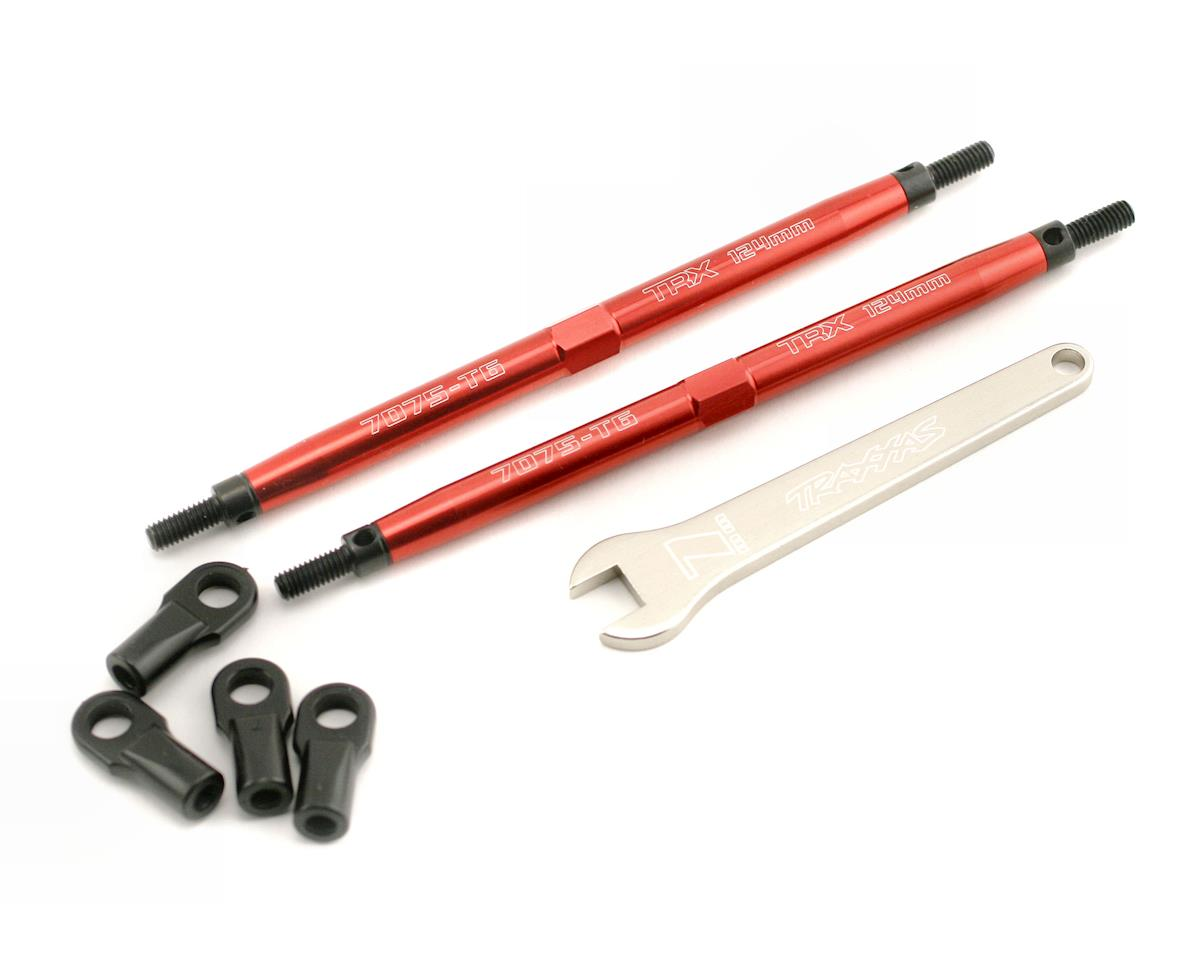 Traxxas Aluminum Toe Link Rear Tubes (Red) (2)
