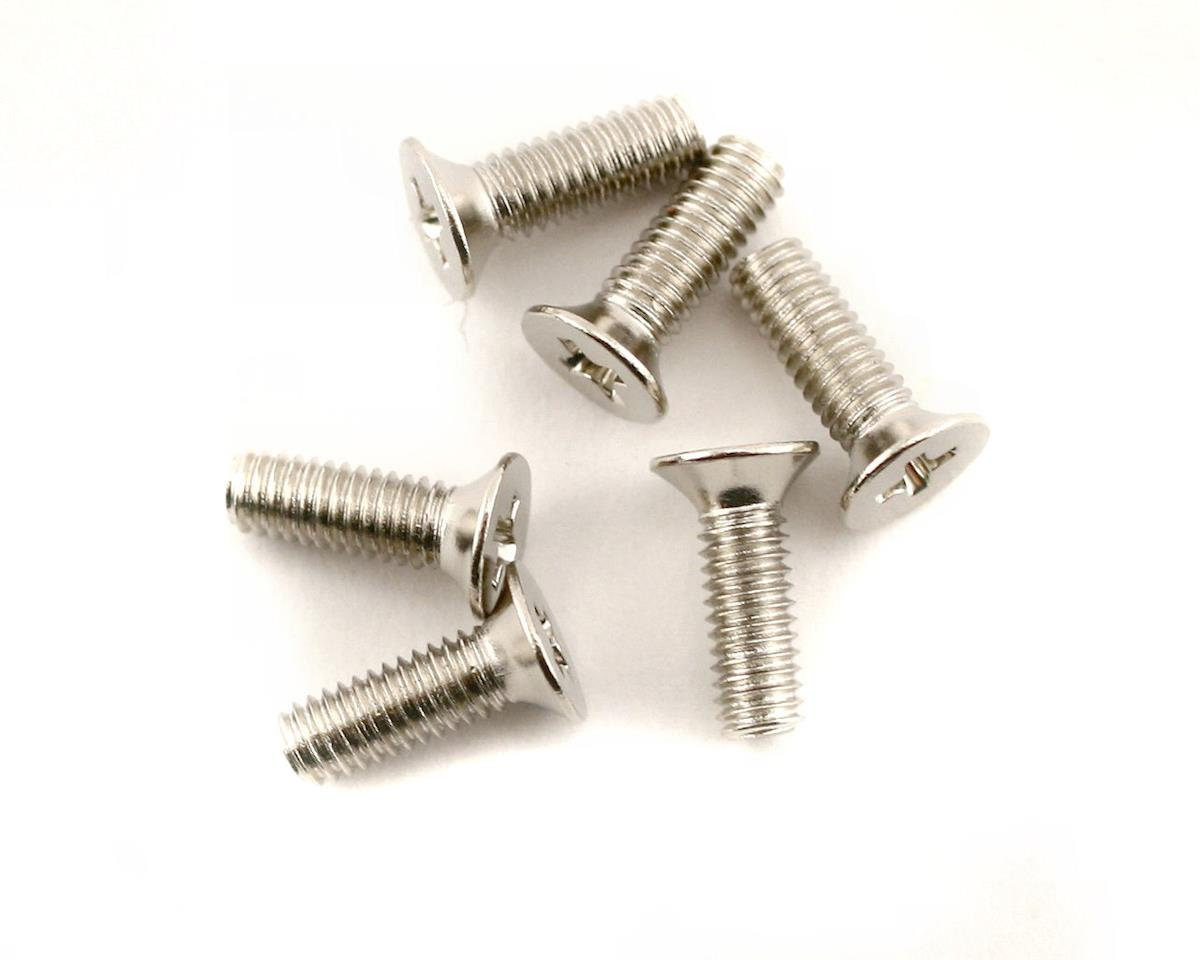 Traxxas Screws, 2.6x8mm countersunk machine (6)