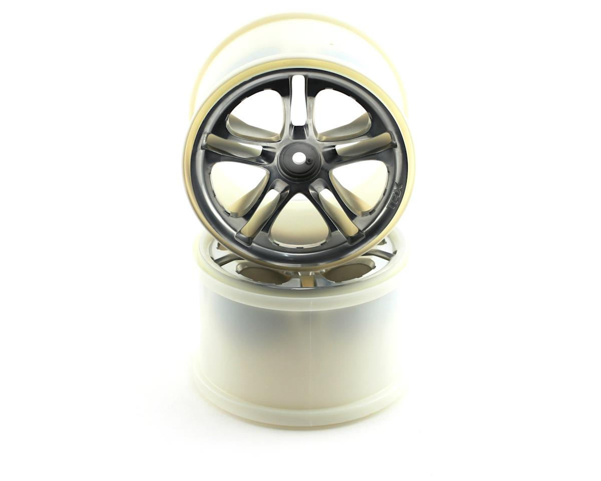 Traxxas 3.8 SS Split Spoke Wheels (Revo,TMX) (2) (Satin Chrome)