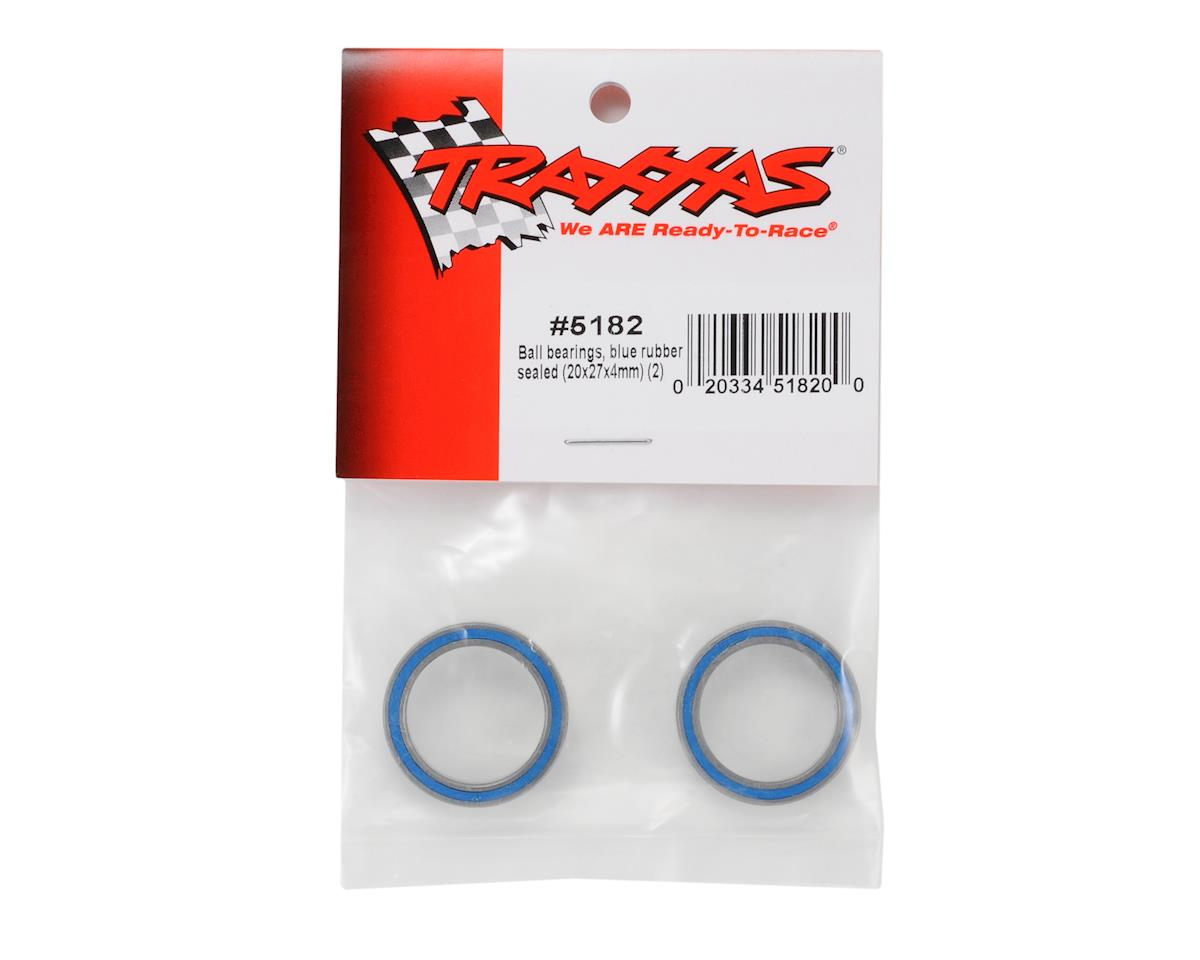 Traxxas 20x27x4mm Rubber Sealed Ball Bearings (2)