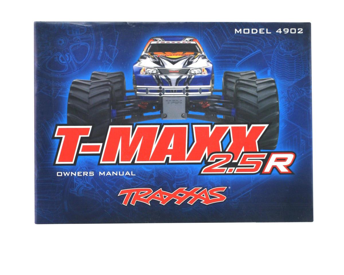 Traxxas Owners Manual T Maxx 2 5R