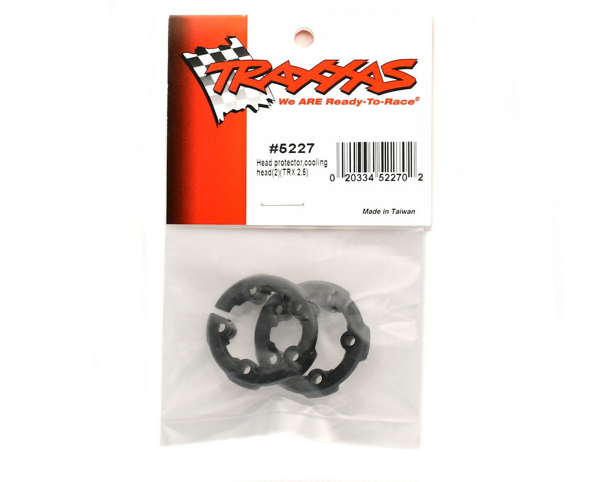 Traxxas Head protector, cooling head (2) (TRX 2.5)