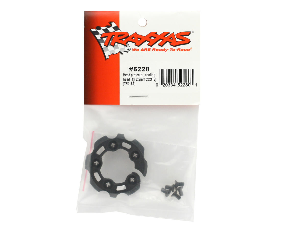 Cooling Head Protector (TRX 3.3) by Traxxas