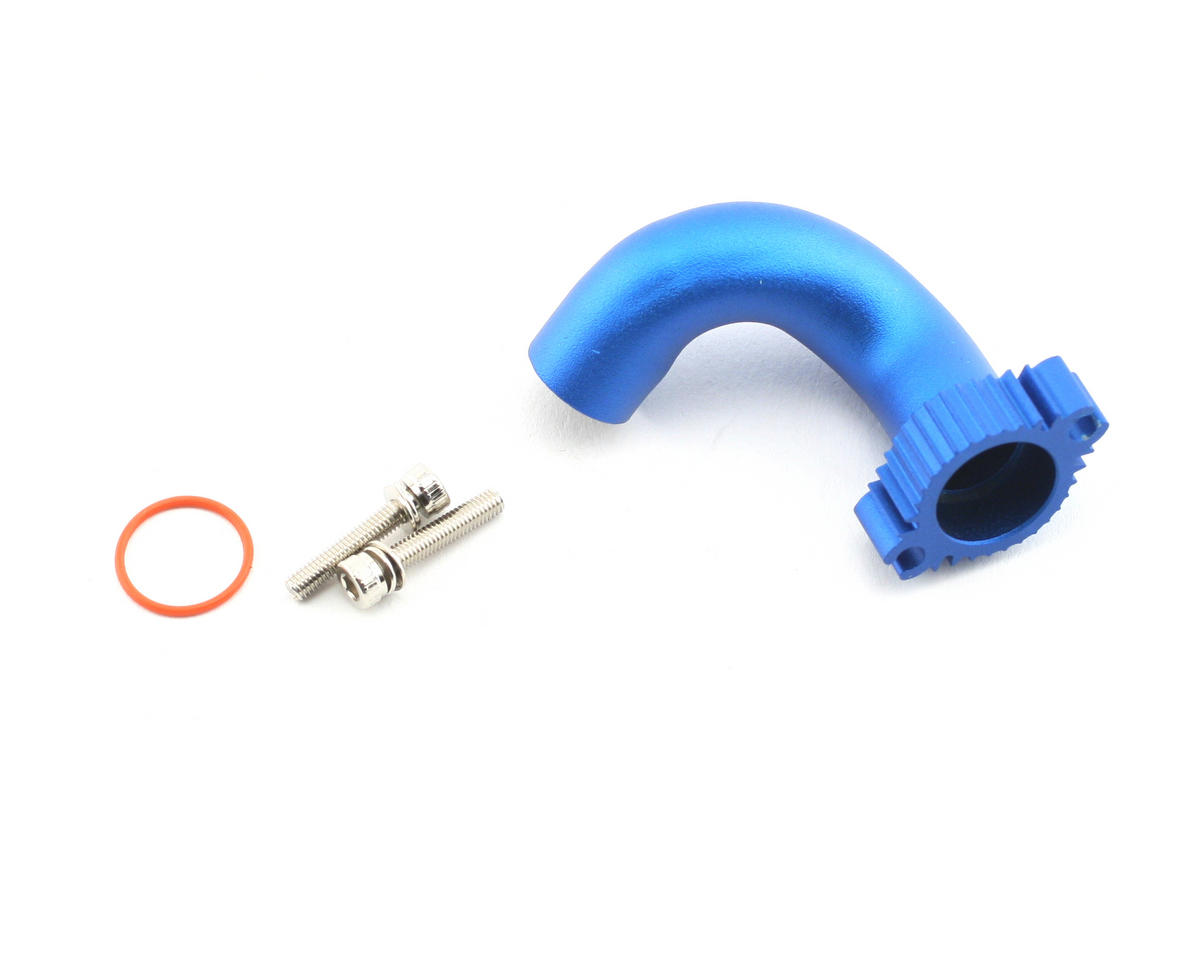 Traxxas Nitro Slash Aluminum Header (Blue)