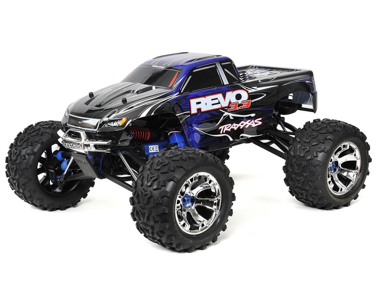Traxxas Revo 3.3 4WD RTR Nitro Monster Truck w/TQi, Docking Base & Telemetry