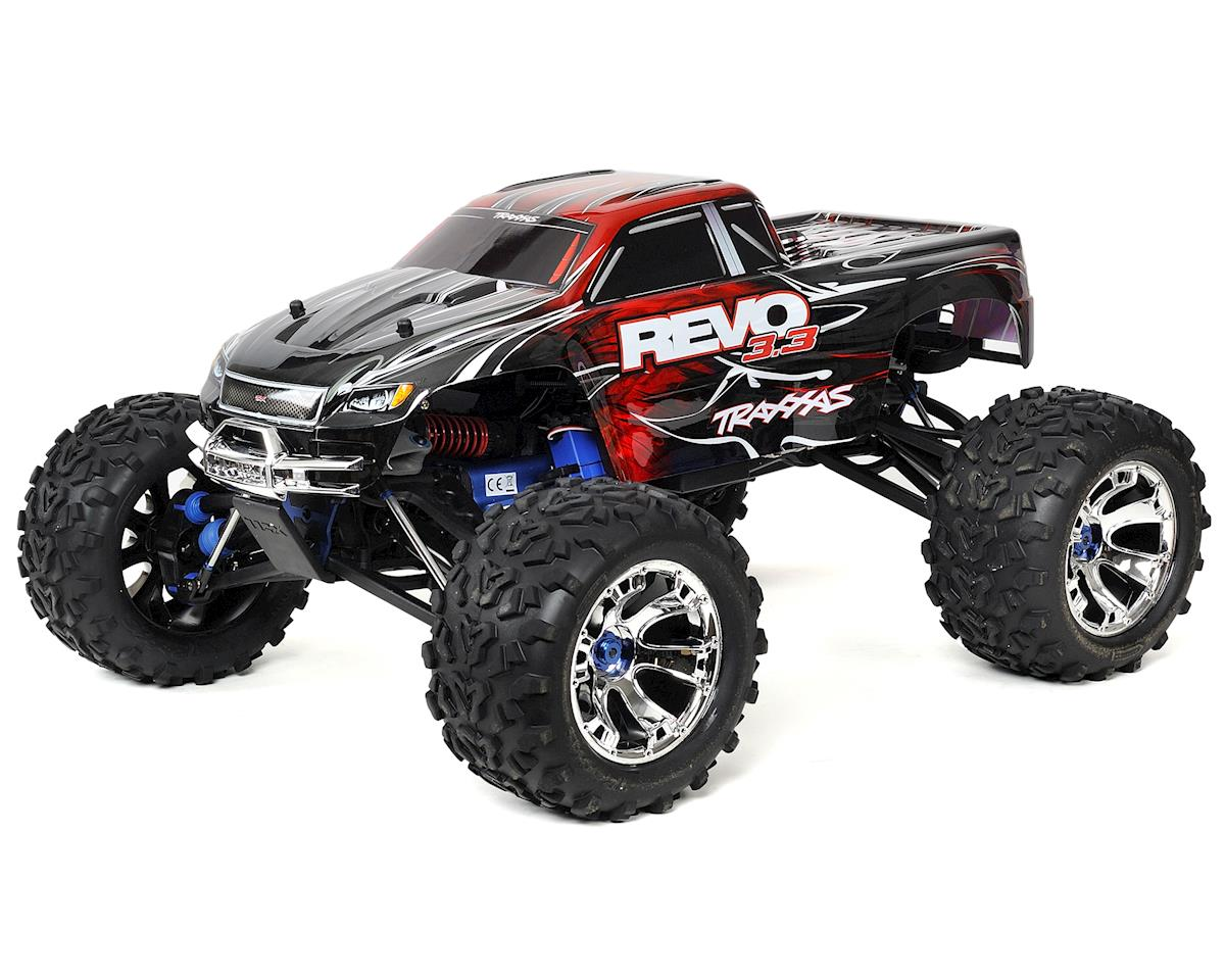 Image 1 for Traxxas Revo 3.3 4WD RTR Nitro Monster Truck w/TQi (Red)