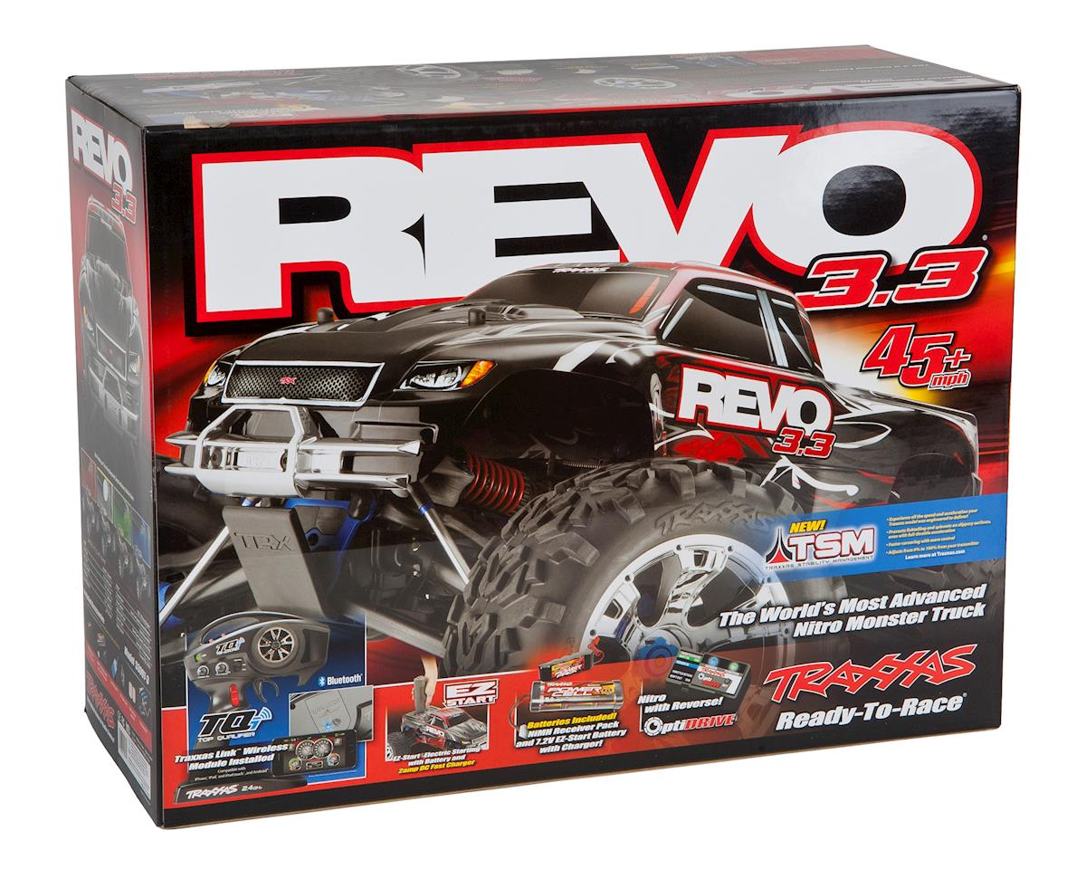 Image 7 for Traxxas Revo 3.3 4WD RTR Nitro Monster Truck w/TQi (Red)