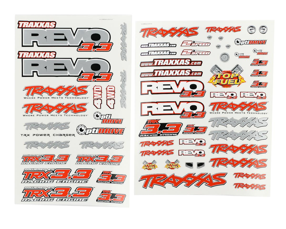 Traxxas Revo 3.3 Decal Set