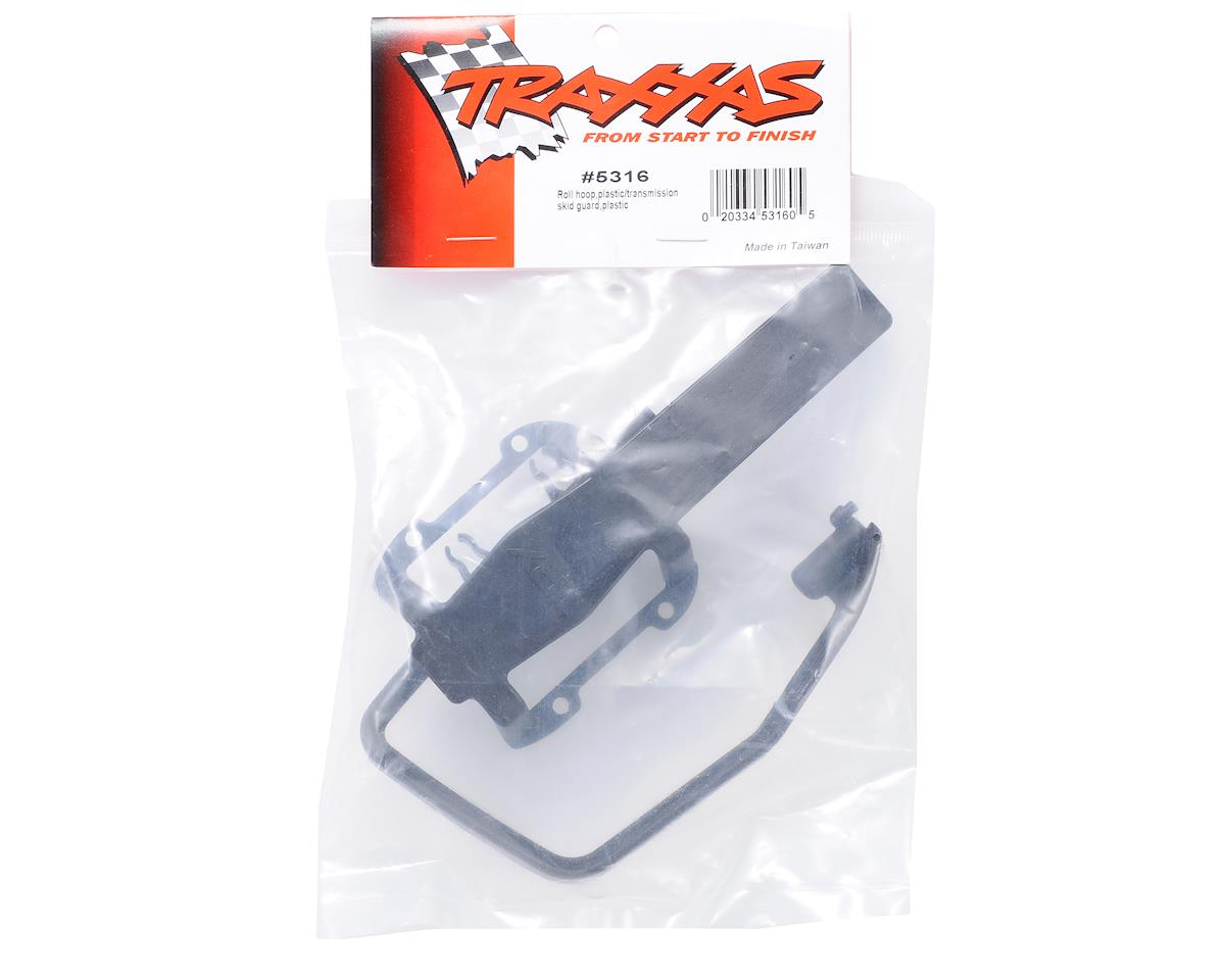 Traxxas Revo Roll Cage and Transmission Skid guard