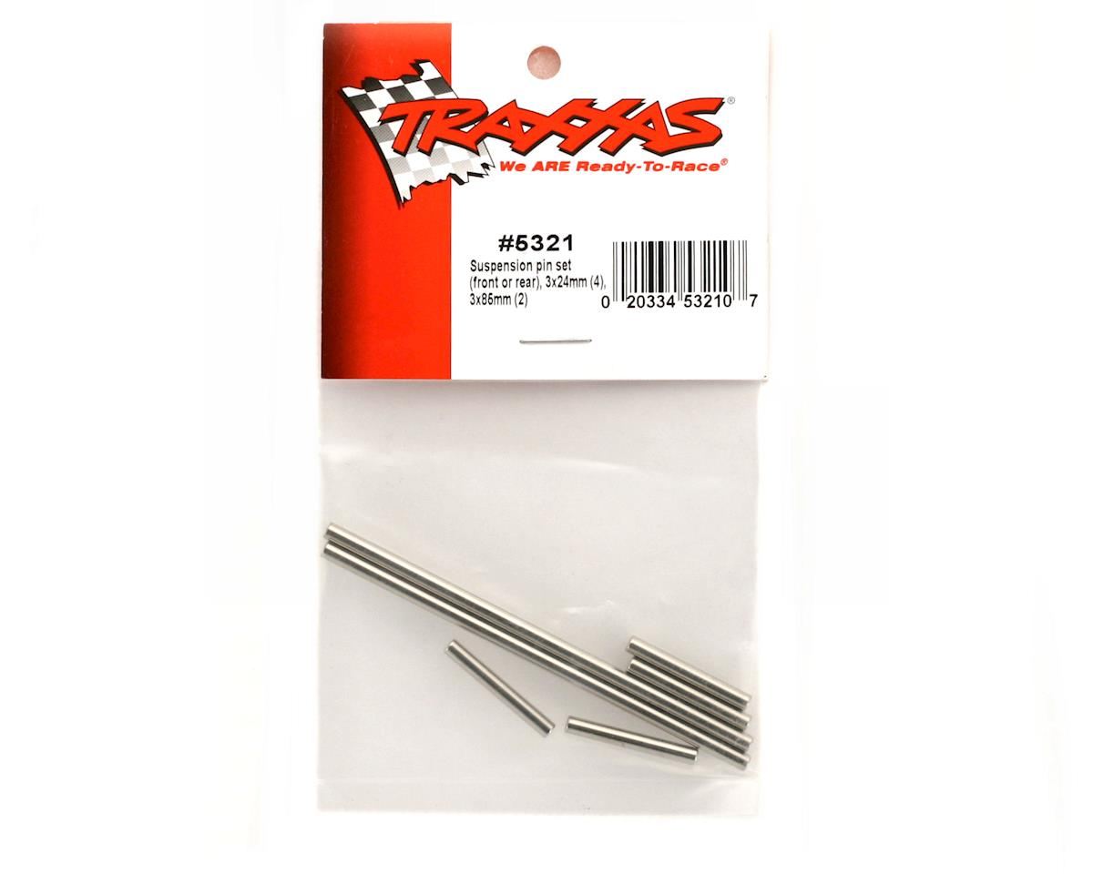 Traxxas Hardened Steel Suspension Pin Set (6)