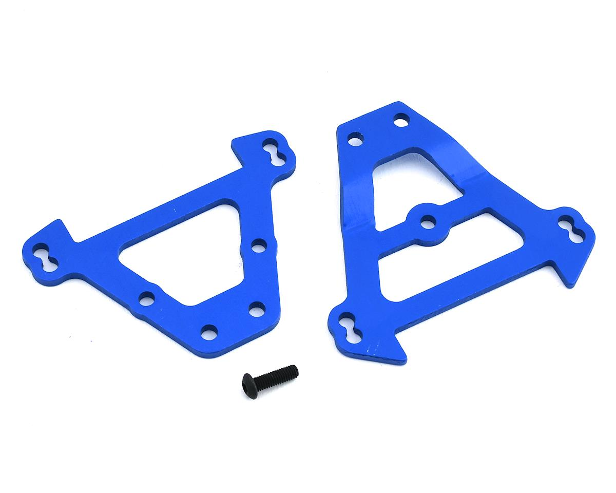 Image 1 for Traxxas Aluminum Bulkhead Tie Bars (Blue)