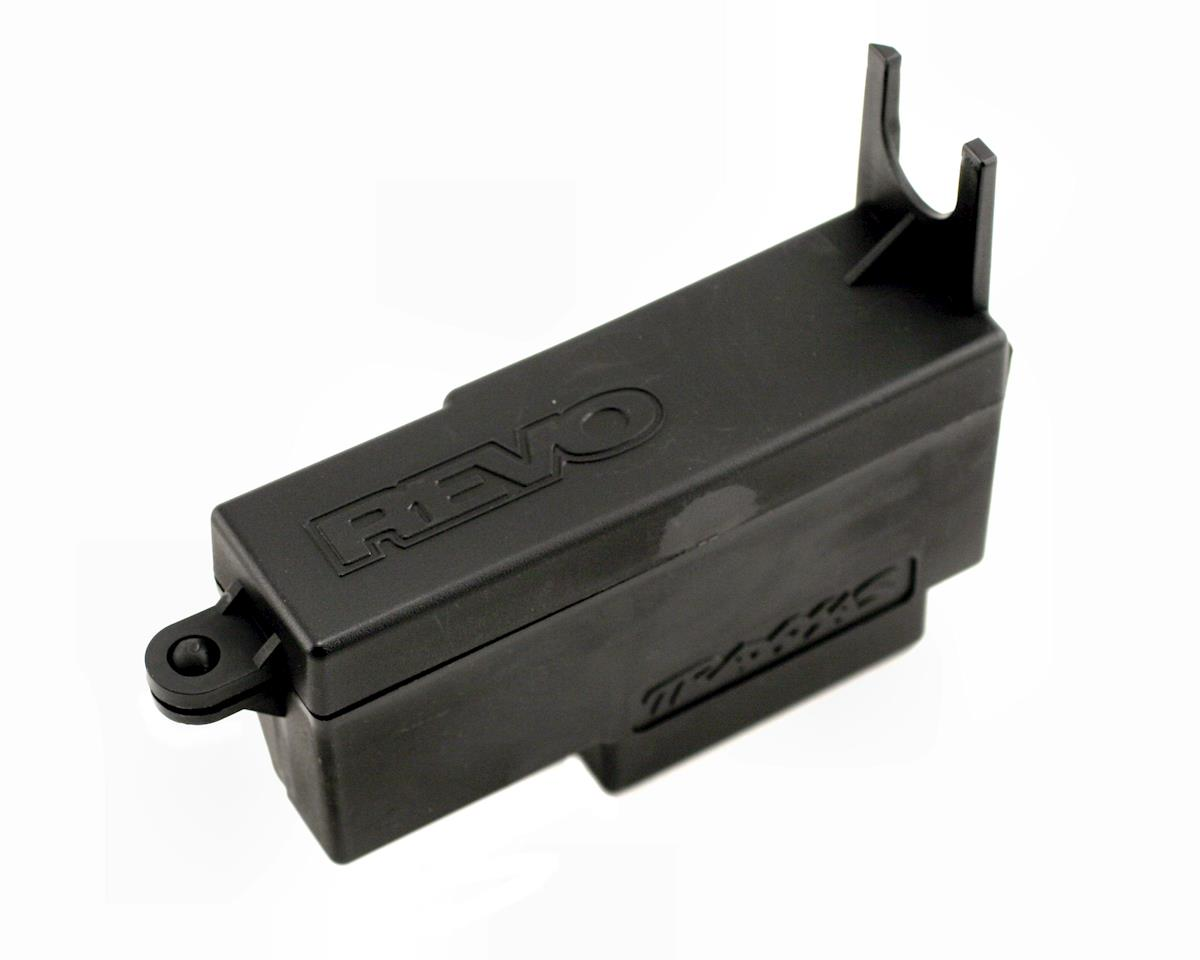 Revo Electronics box, left/ box cover by Traxxas