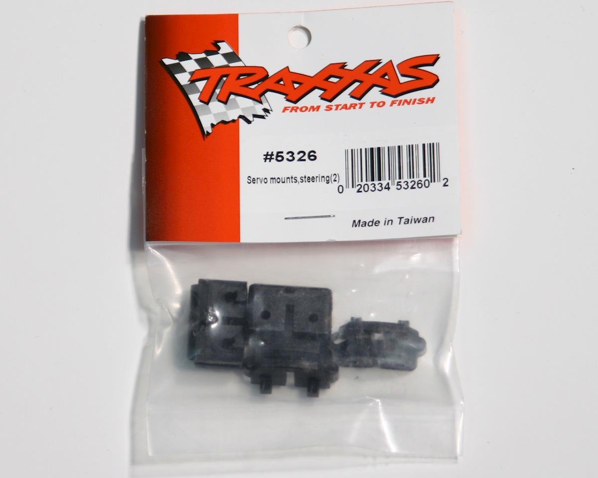 Traxxas Revo Servo mounts, steering (2)