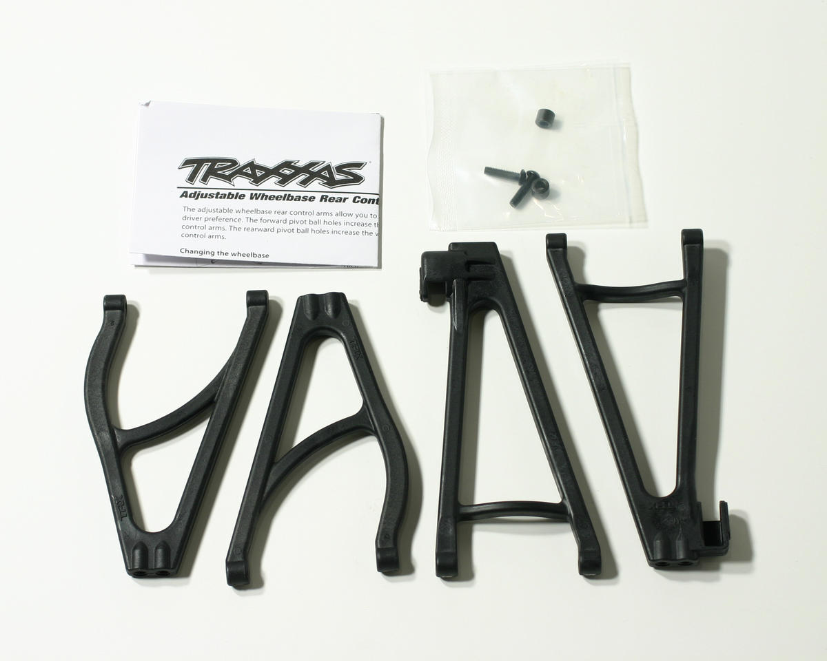 Traxxas Revo Rear Extended Wheelbase Suspension Arm Set