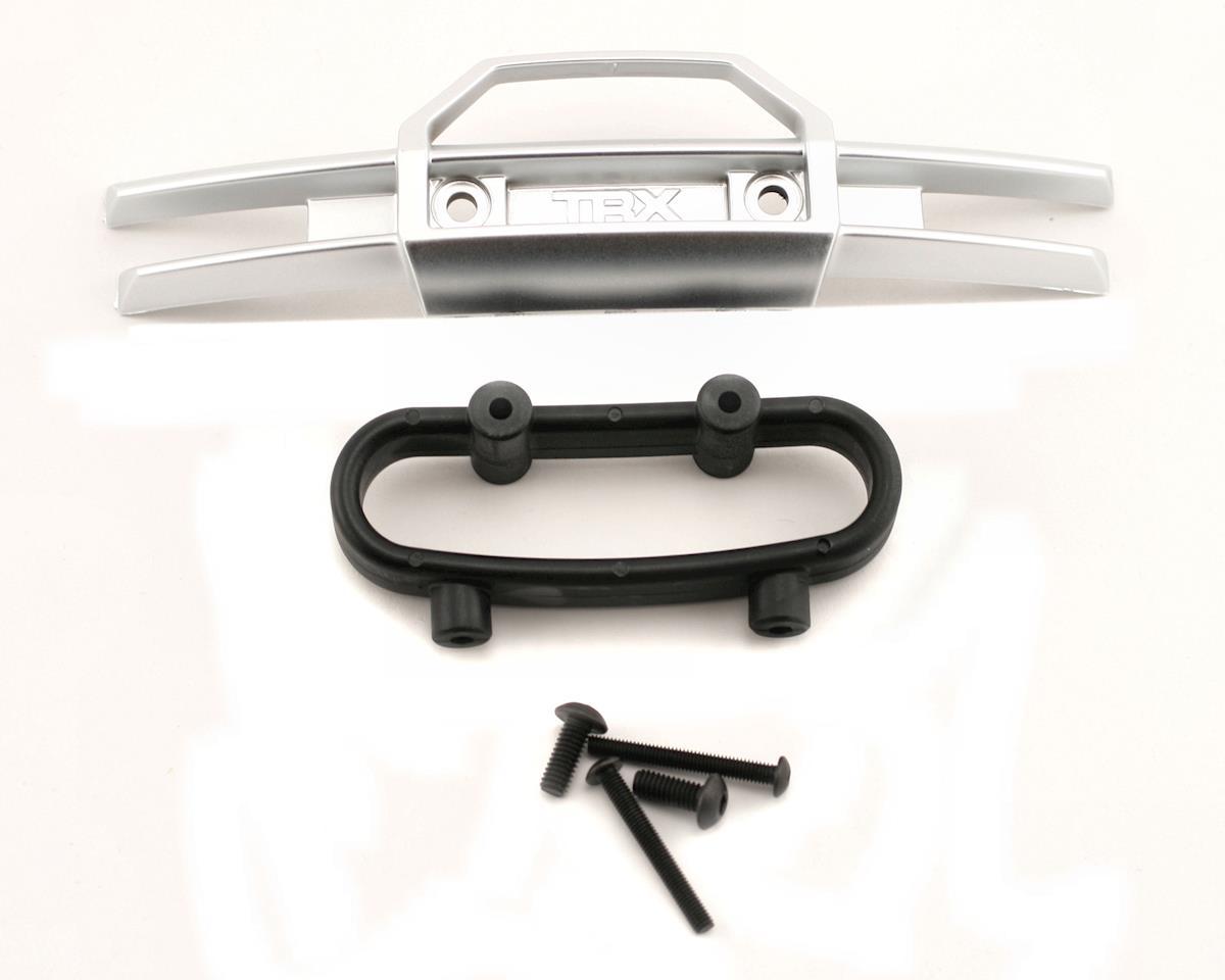 Revo Bumper, front/ Bumper mount, front/ 4x10mm BCS (2)/ 3x25mm BCS (2) by Traxxas
