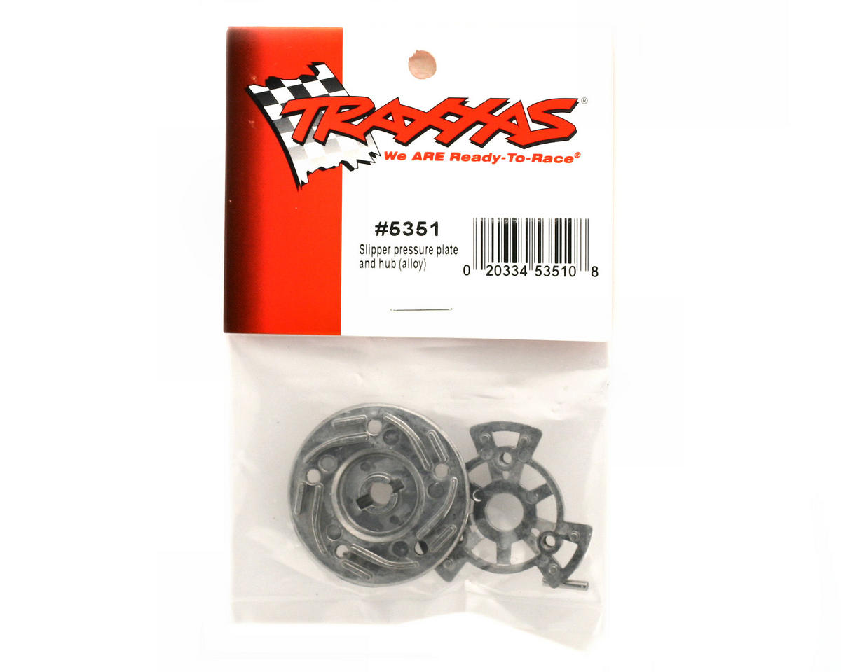 Traxxas Revo Slipper pressure plate and hub (alloy)