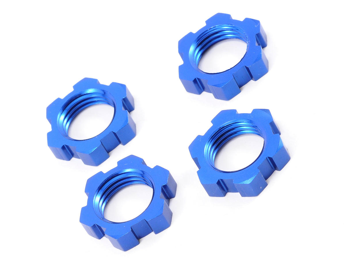 Traxxas 17mm Splined Wheel Nuts (4)