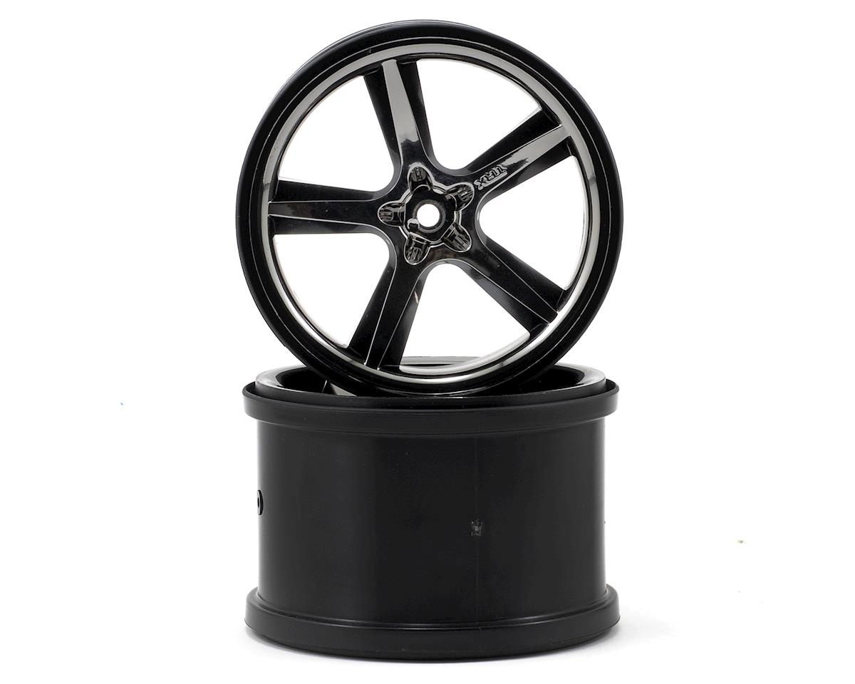 "Gemini 3.8"" Wheel (2) (Black Chrome) by Traxxas"