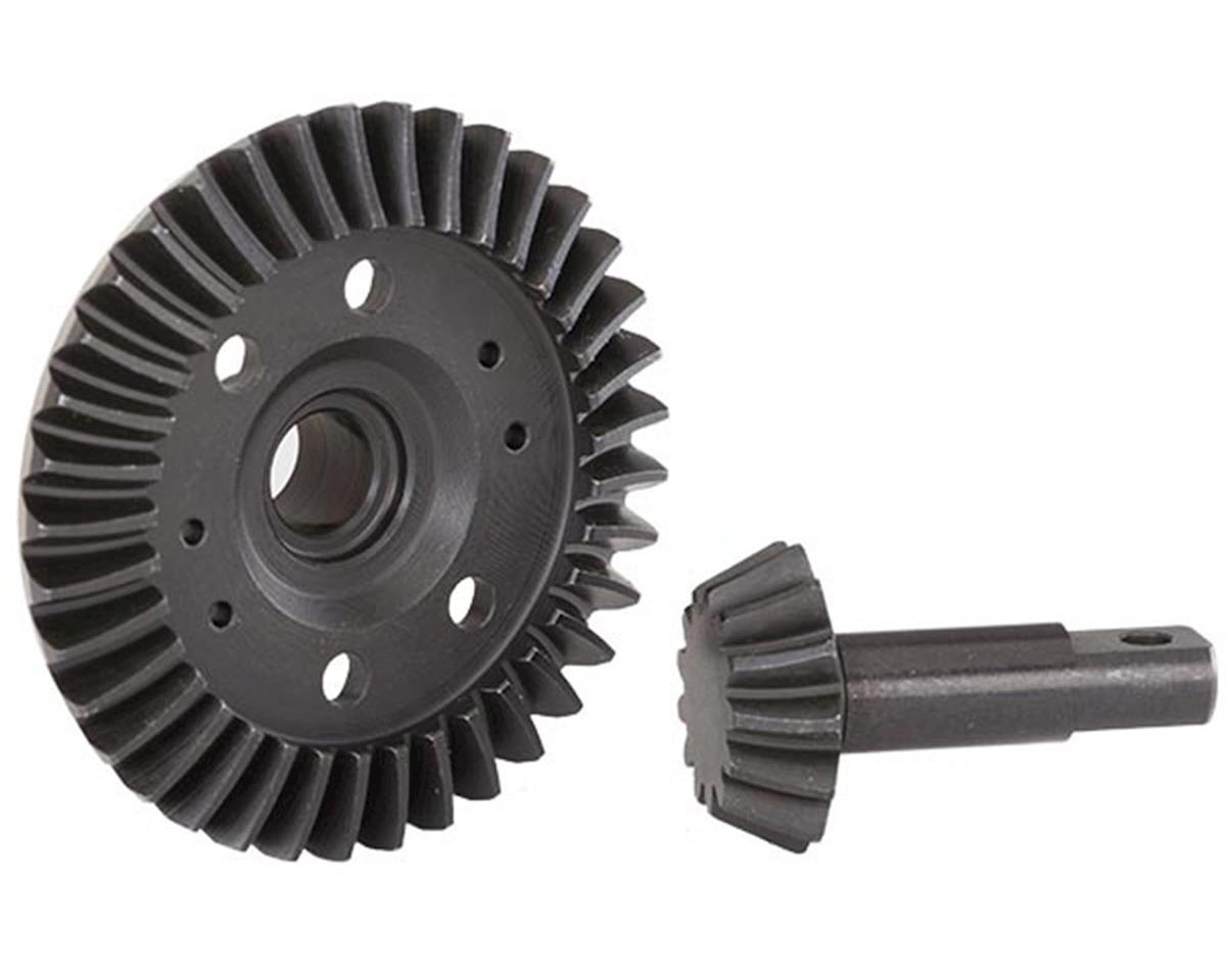 Traxxas Spiral Cut Differential Ring Gear & Pinion Gear Set (Front) | alsopurchased
