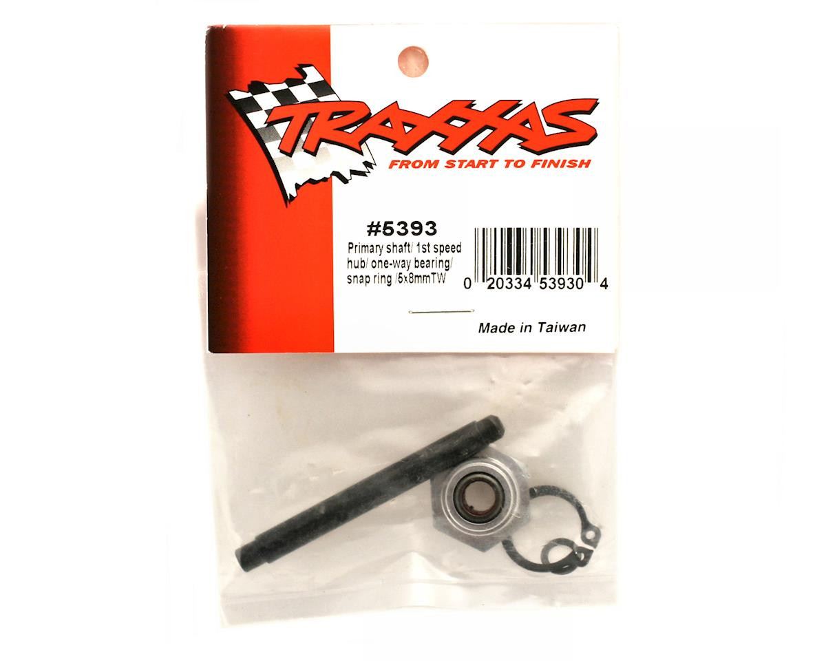 Revo Primary shaft/ 1st speed hub/ one-way bearing/ snap ring/ 5x8mm TW by Traxxas