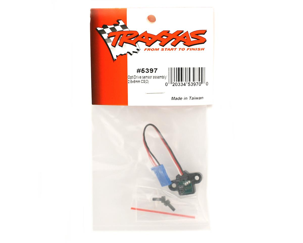 Traxxas Revo OptiDrive sensor assembly/ 2.5x6mm CS (2)