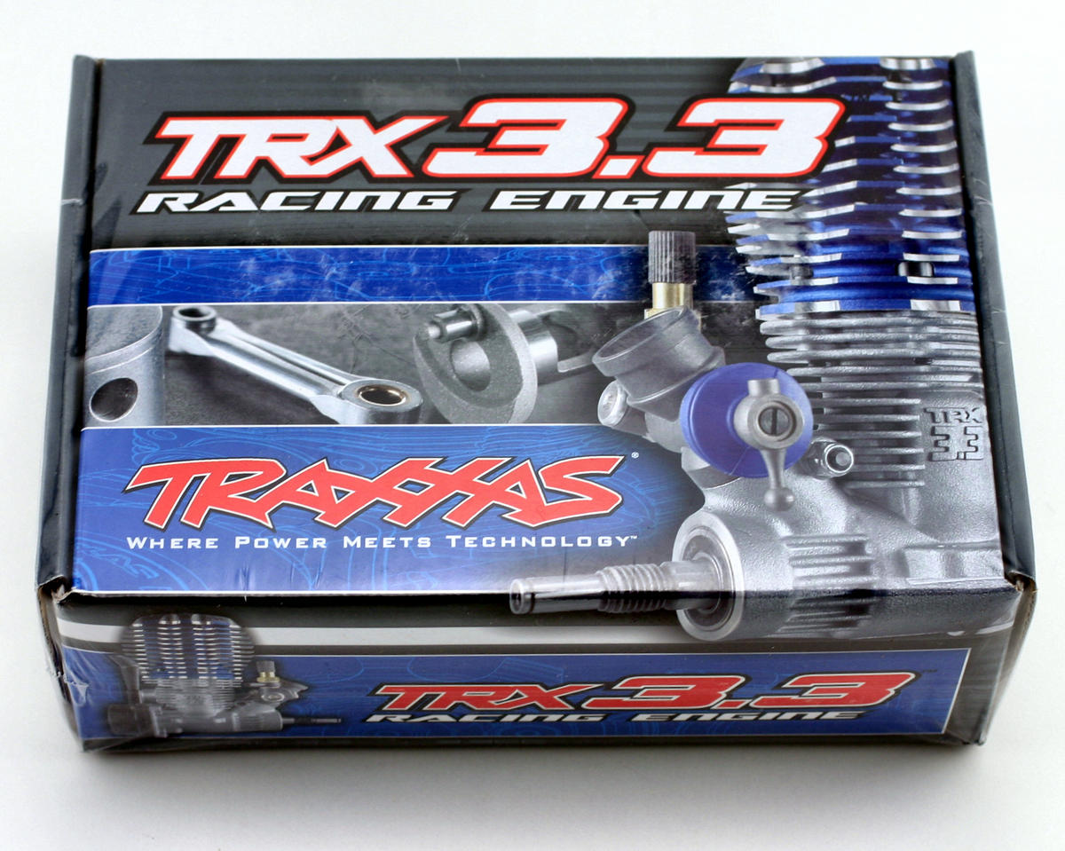 TRX 3.3 Rear Exhaust IPS Shaft, Standard Plug, Slide Carb Engine by Traxxas