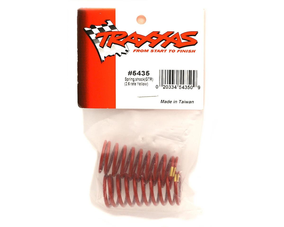 Traxxas Shock Springs (Yellow - GTR 2.6) (2) (Revo)