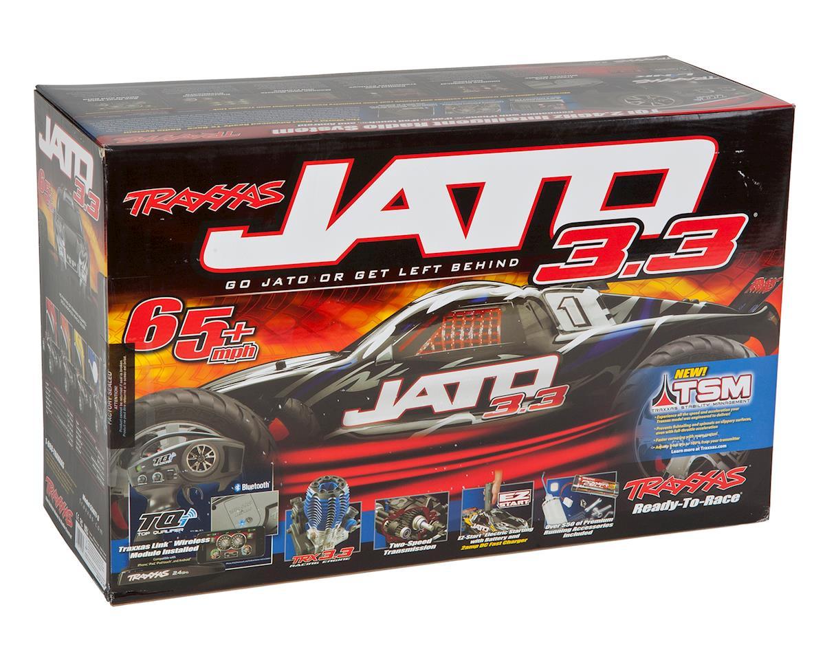 Jato 3.3 2WD RTR Nitro Stadium Truck w/TQi (Orange) by Traxxas
