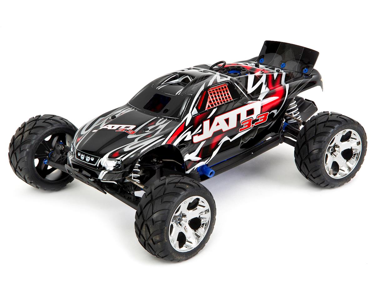 tra55077 3 red traxxas jato 3 3 2wd rtr nitro stadium truck w tqi (red) [tra55077 Traxxas Jato 3.3 Hop-Ups at crackthecode.co