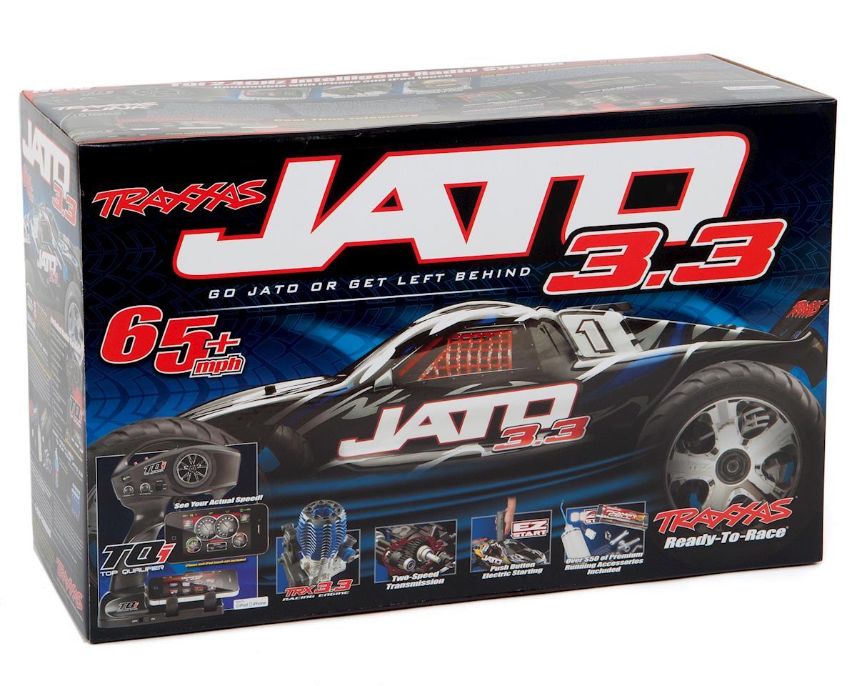 Traxxas Jato 3.3 1/10 2WD RTR Nitro Stadium Truck (w/TQi 2.4GHz Radio, Docking B