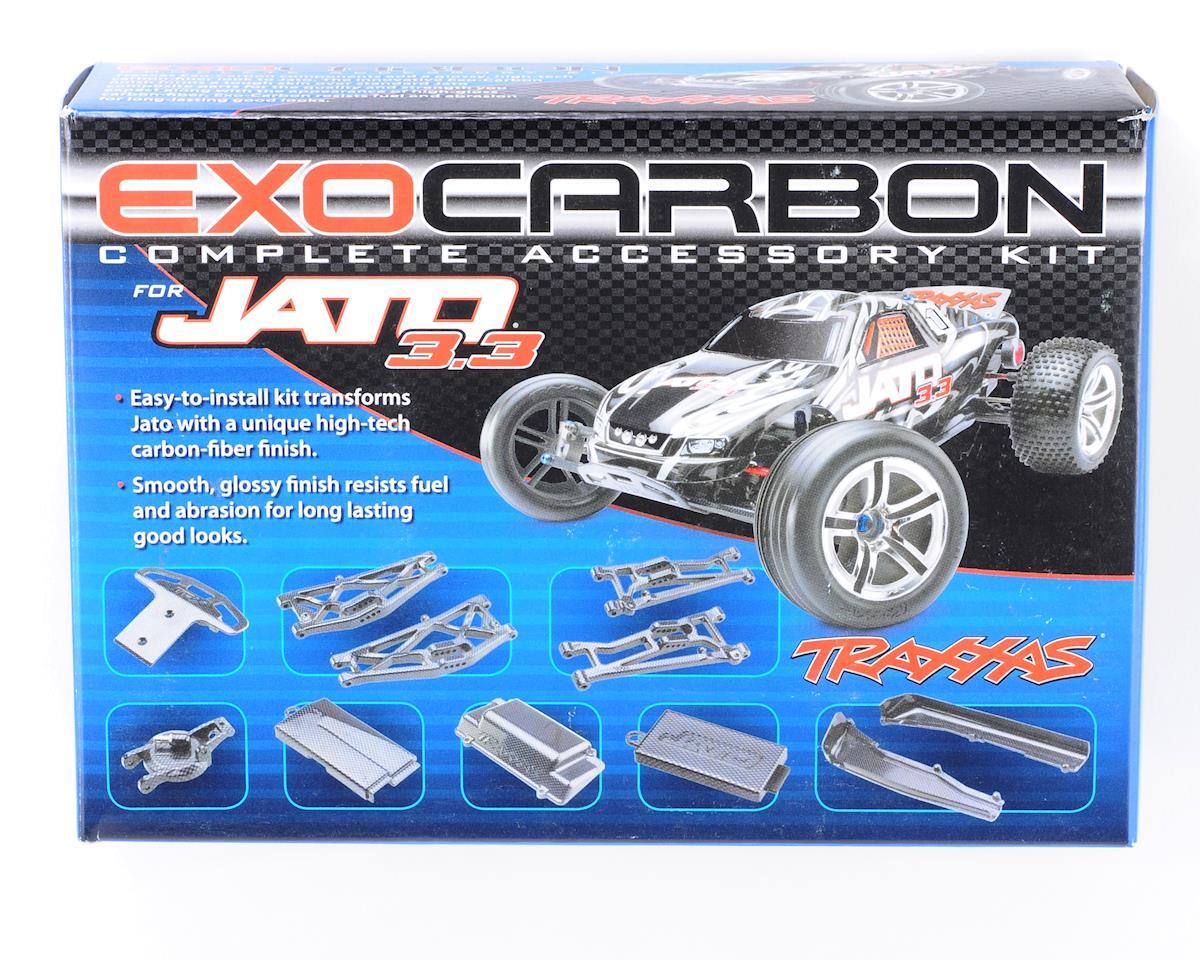 Exo-Carbon Kit for Jato by Traxxas
