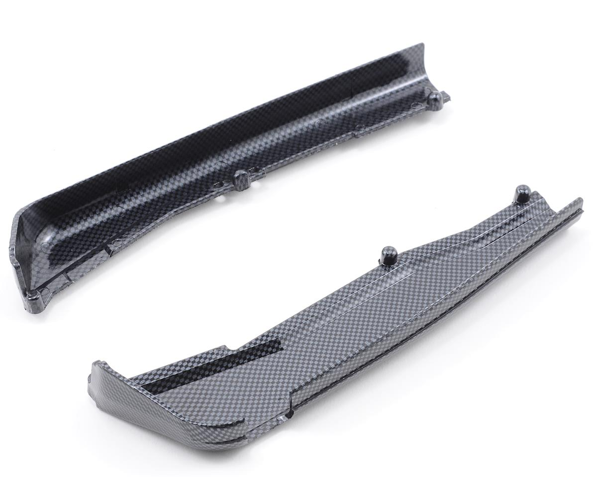 Exo-Carbon Left & Right Dirt Guards by Traxxas