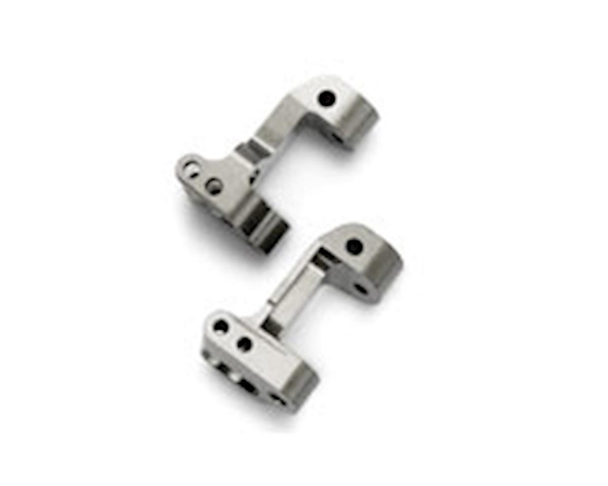 Blue Aluminum Caster Blocks, Left & Right (Jato) by Traxxas