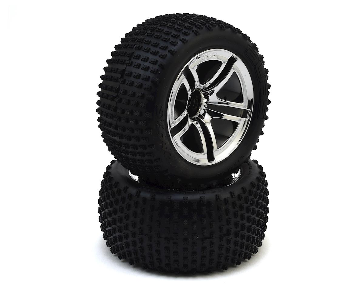 Traxxas Pre-Mounted Rear Tires (2)
