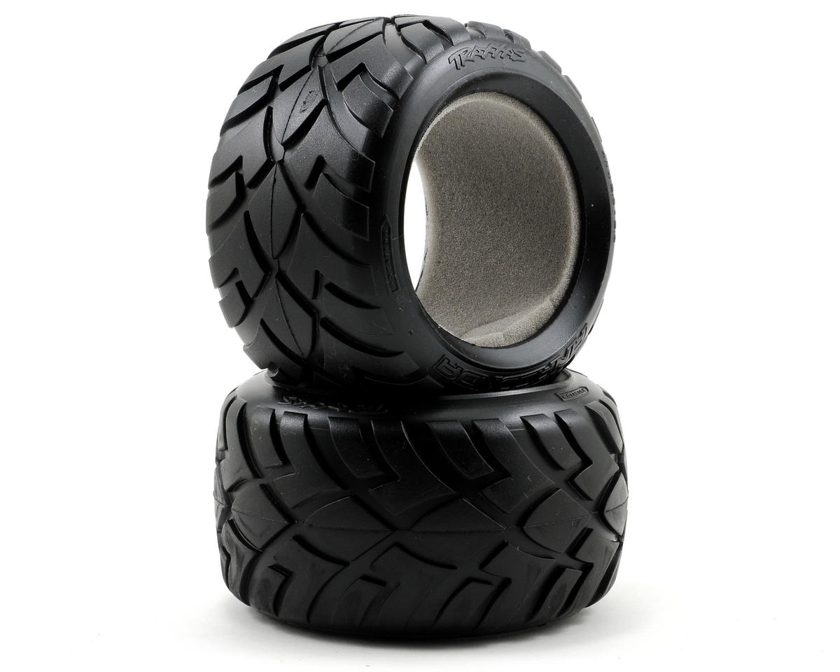 "Anaconda 2.8"" Tire w/Foam (2) (Jato) by Traxxas"