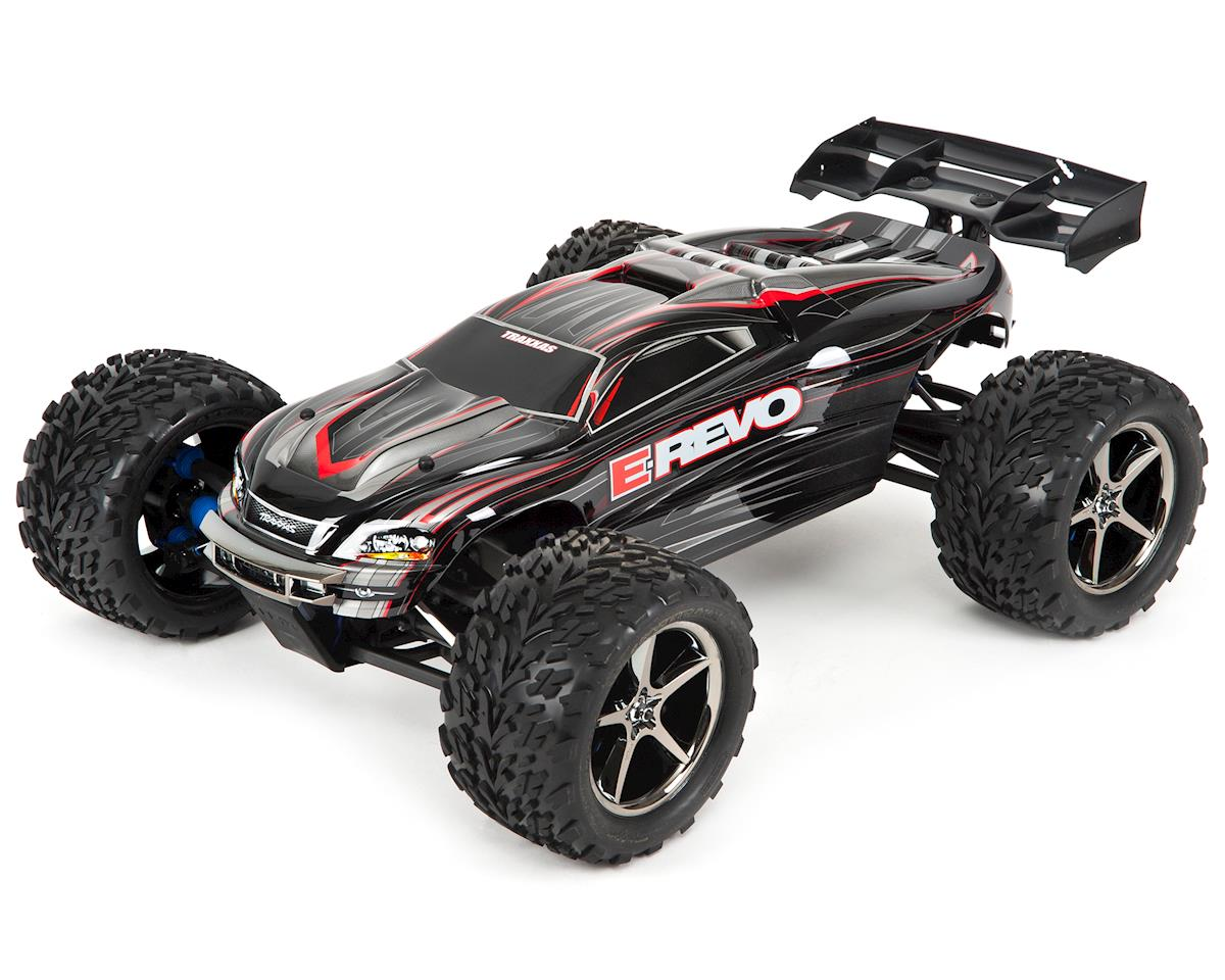 E-Revo 16.8V RTR 4WD Monster Truck (Black) by Traxxas