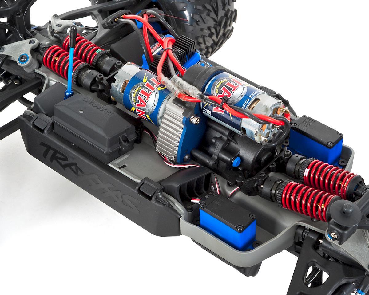 Traxxas E-Revo 16.8V RTR 4WD Monster Truck (Silver)