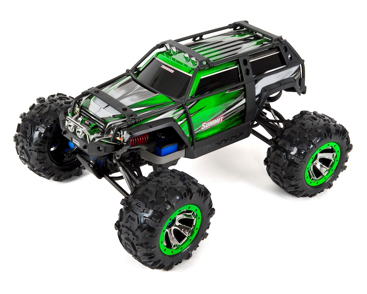Summit RTR 4WD Monster Truck (Green) by Traxxas