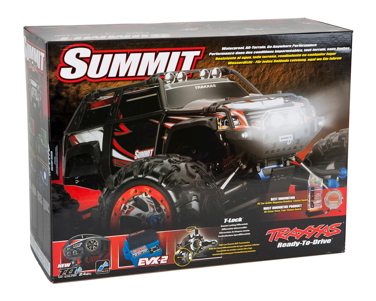Traxxas Summit RTR 4WD Monster Truck (Green)
