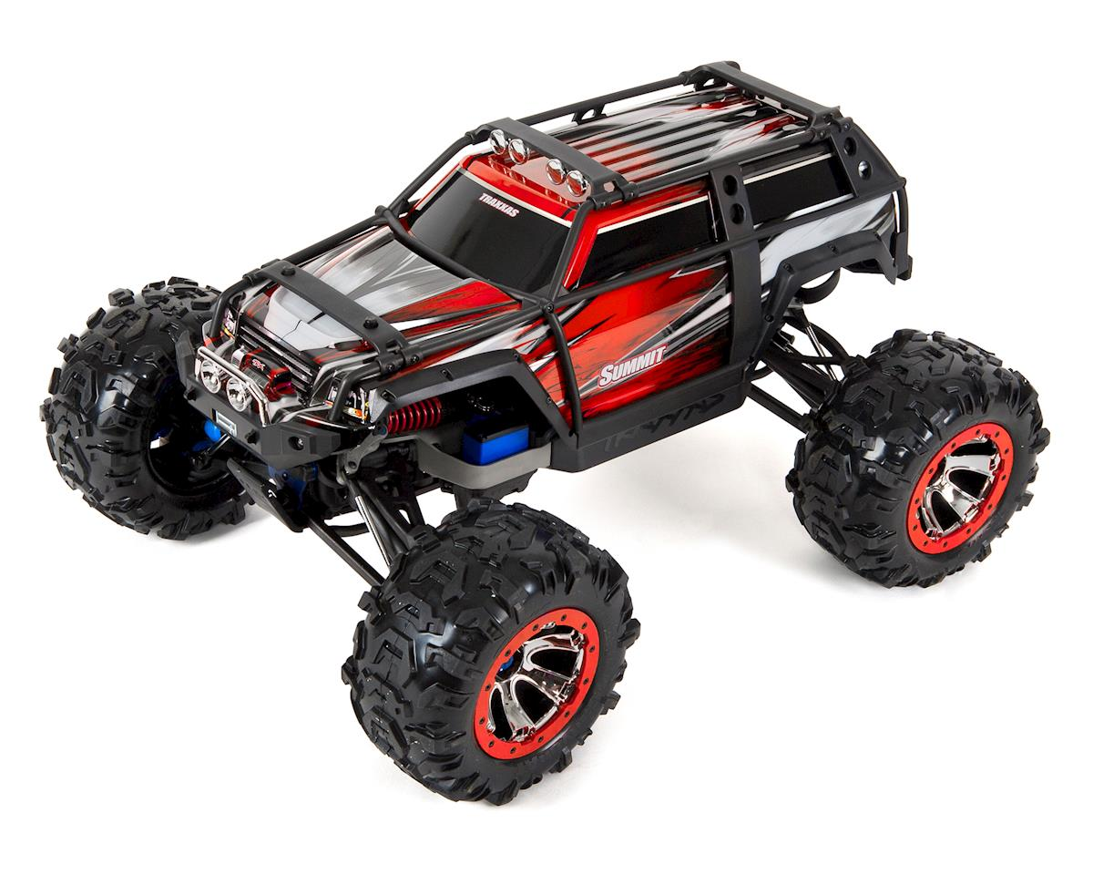 Traxxas Summit RTR 4WD Monster Truck (Red) w/TQi 2 4GHz & EVX-2 ESC