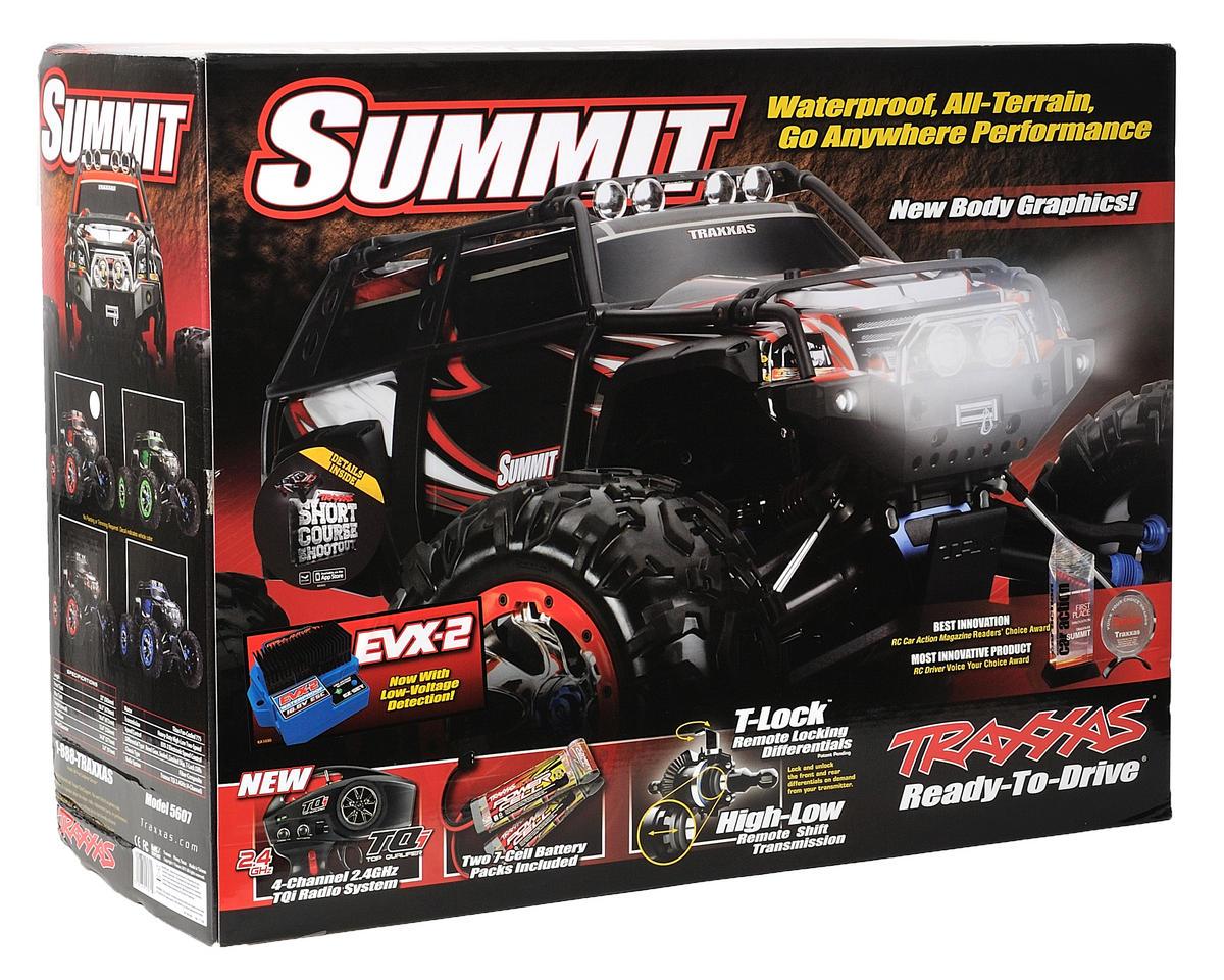 Traxxas Summit Electric 4WD Monster Truck RTR (w/TQi 2.4GHz Radio, EVX2 ESC & Ba