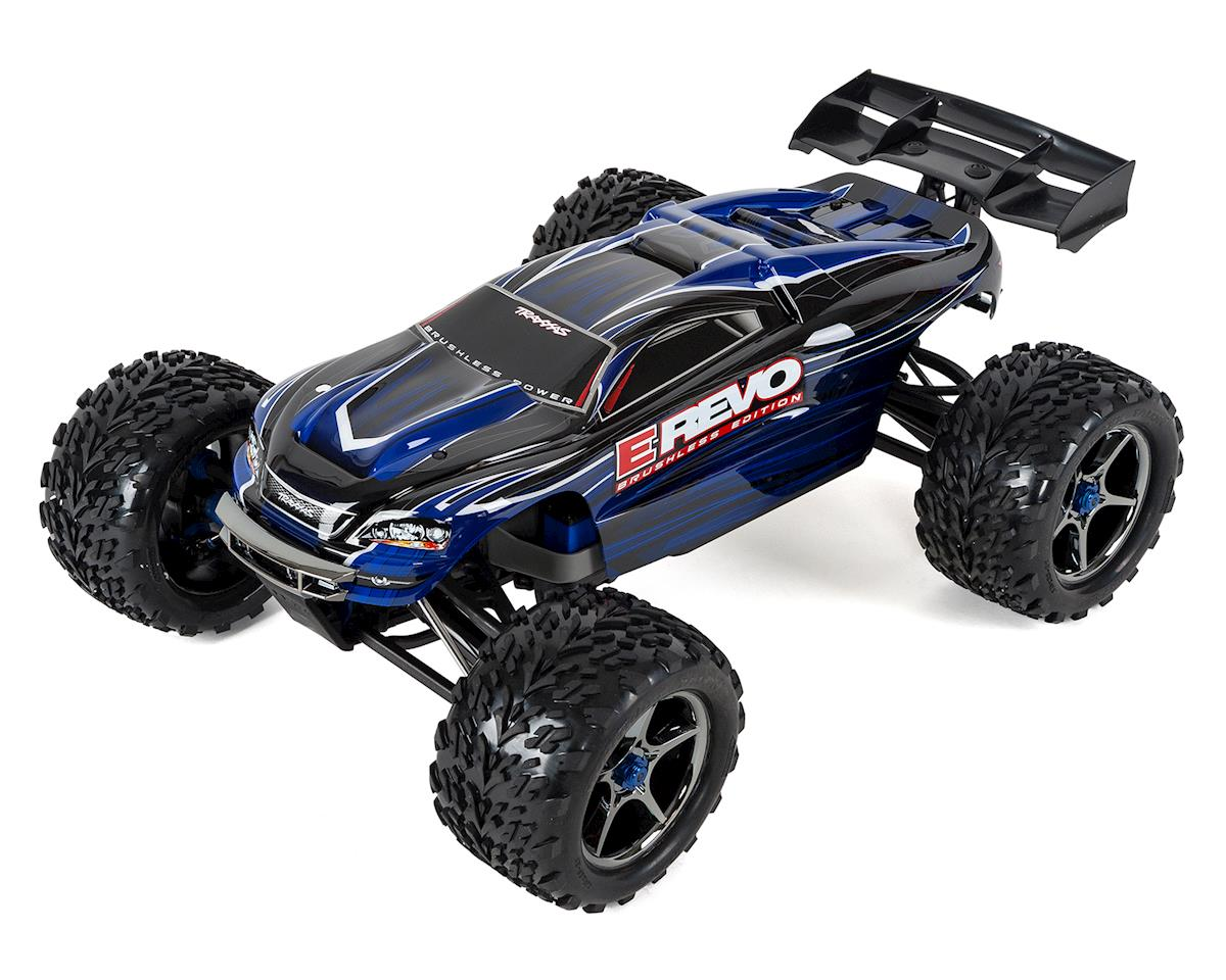Traxxas E-Revo RTR 4WD Brushless Monster Truck (Blue)