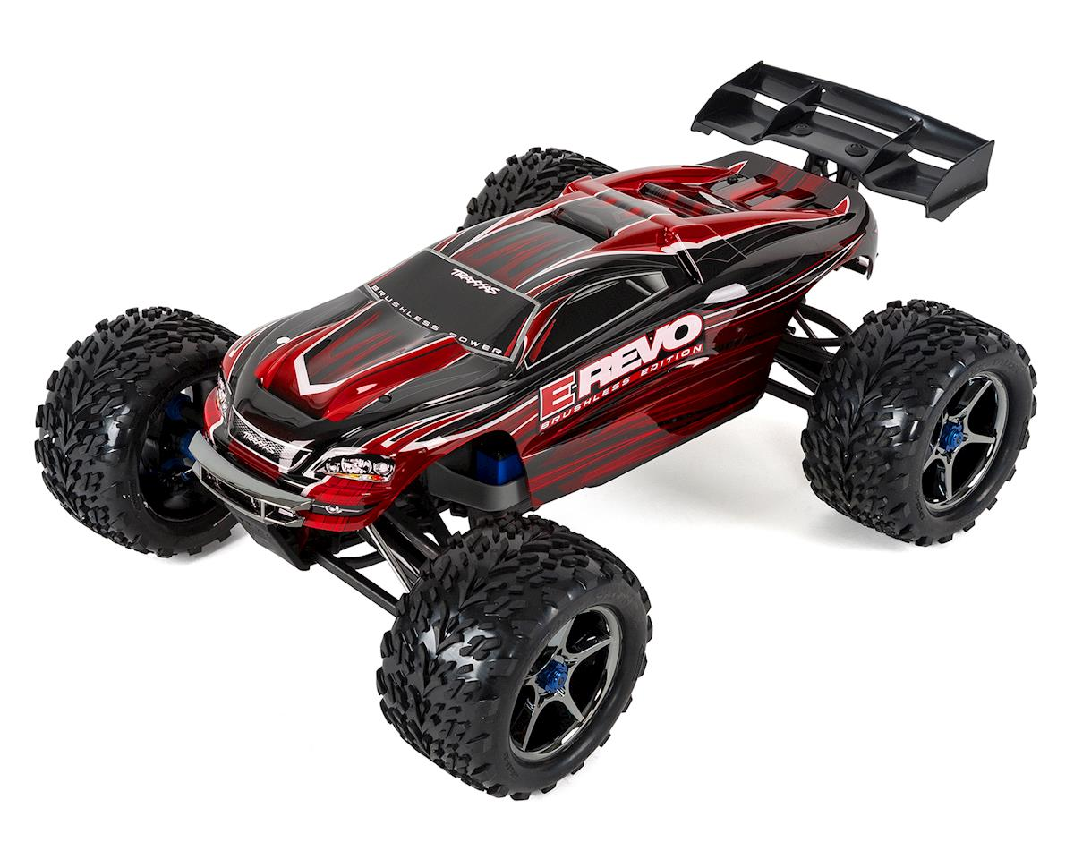 E-Revo RTR 4WD Brushless Monster Truck (Red) by Traxxas
