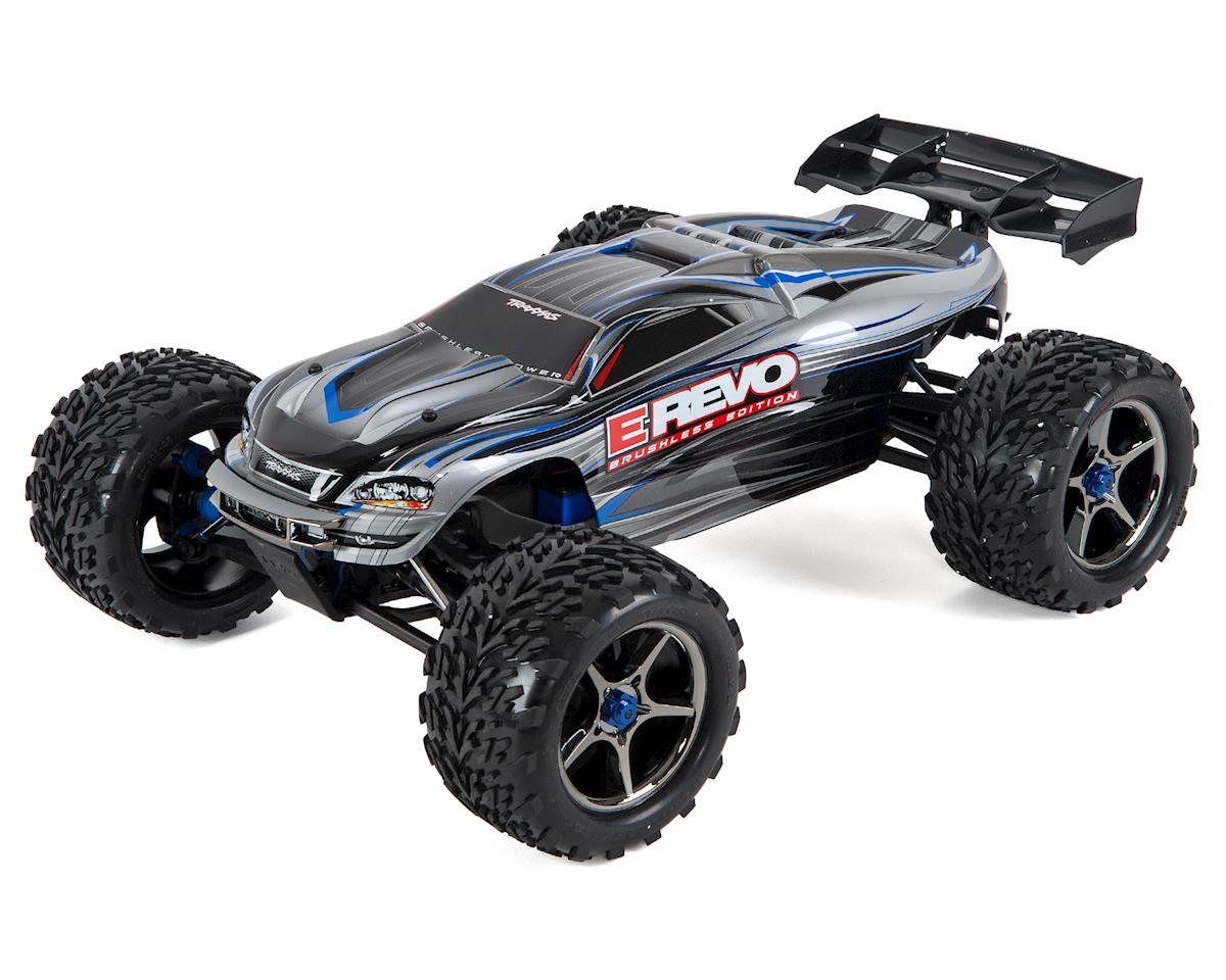 Traxxas E-Revo RTR 4WD Brushless Monster Truck (Silver)