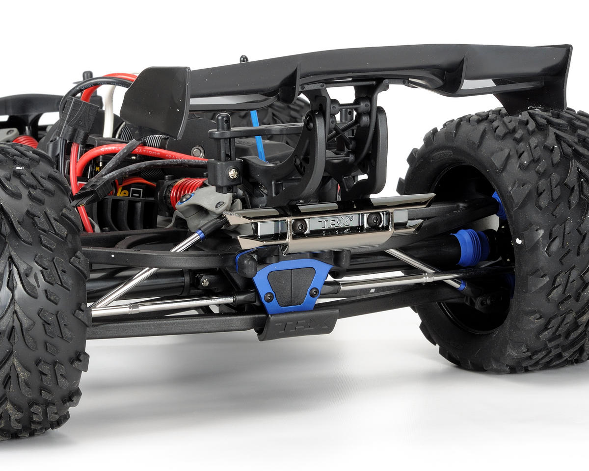 Traxxas E-Revo Brushless RTR Monster Truck (w/Castle Mamba,TQi 2.4GHz Radio & Ba