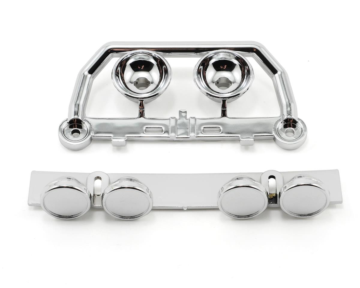 Traxxas Roof/Bumper Light Bar Set (Chrome)