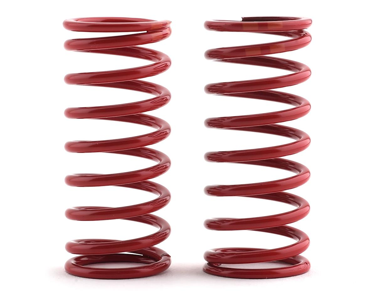 Traxxas Long Shock Springs (Red w/Double Orange Stripe - GTR 5.4) (2) (Summit)