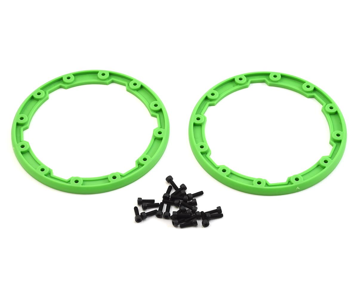 Traxxas Beadlock Style Sidewall Protector (Green) (2)