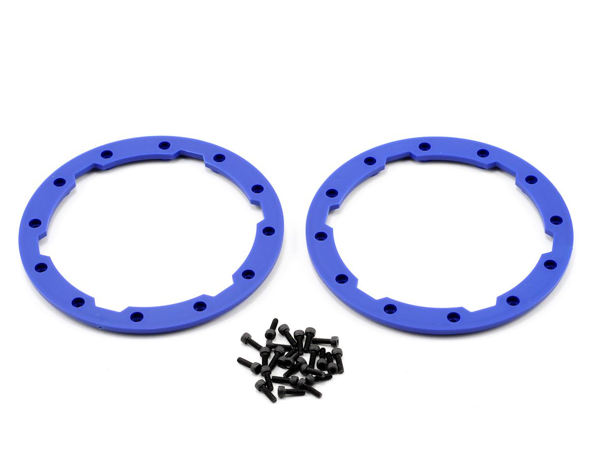 Beadlock Style Sidewall Protector w/Hardware (Blue) (2) by Traxxas
